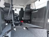 Citroën Spacetourer rolstoelbus binnenkant