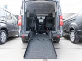 Citroën Spacetourer rolstoelbus oprijplaat omlaag