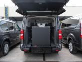 Citroën Spacetourer rolstoelbus oprijplaat omhoog