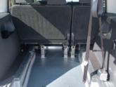 Volkswagen Caddy Rolstoelauto van Freedom Auto Aanpassingen binnenkant
