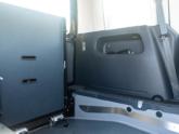 Volkswagen Caddy Rolstoelauto van Freedom Auto Aanpassingen oprijplaat omhoog binnenkant