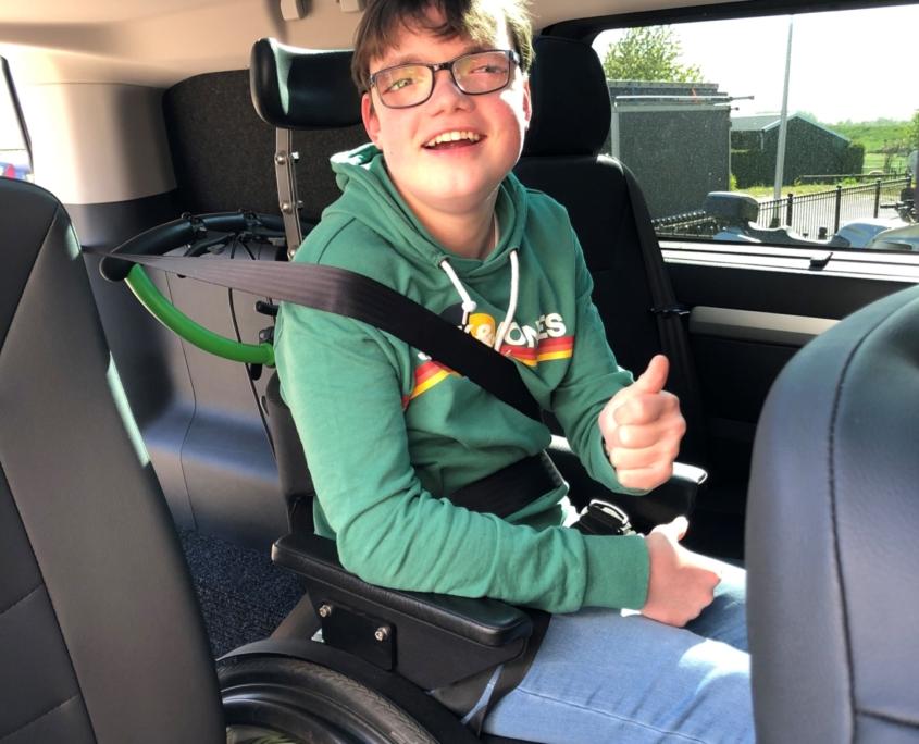 Fam. Timmermans, rolstoelbus Freedom Auto Aanpassingen
