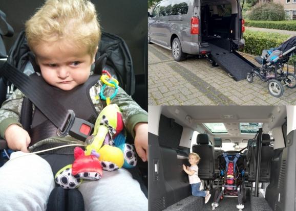 Peugeot Traveller rolstoelbus van familie Oostendorp uit Angerlo