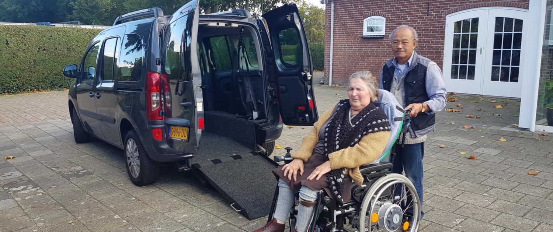 Familie Sitepu uit Boekel - Mercedes Citan rolstoelauto - XXL Freedom Van bodemverlaging