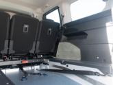 Peugeot Rifter rolstoelauto van Freedom Auto Aanpassingen binnenkant