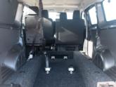 Opel Vivaro rolstoelauto van Freedom Auto Aanpassingen interieur