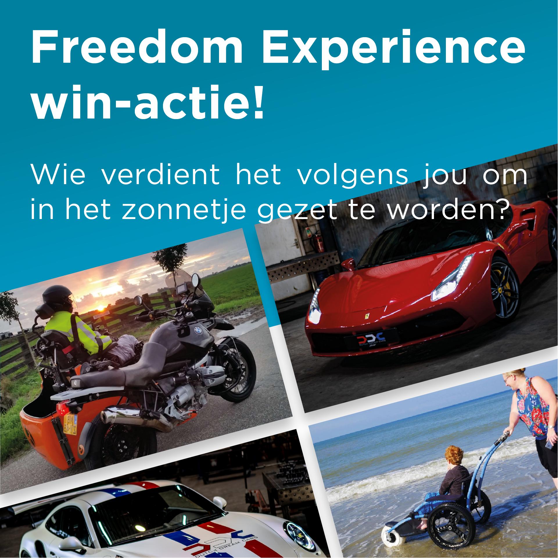 Freedom Experience win-actie